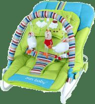 SUN BABY Dětské lehátko Safari – Sheep