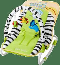SUN BABY Detské ležadlo Safari - Green