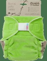 PETIT LULU Zelená maxi / nočná plienka + krátka vkladacia plienka sz