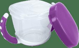 NUK EL Svačinový box – fialová