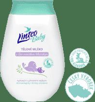 LINTEO Baby Dětské tělové mléko s Bio měsíčkem lékařským, 250 ml