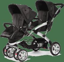 CASUALPLAY Wózek dla rodzeństwa Stwinner 2015 - Lava rock