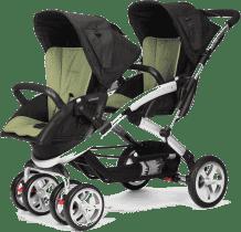 CASUALPLAY Wózek dla rodzeństwa Stwinner 2015 - Grape
