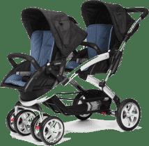 CASUALPLAY Wózek dla rodzeństwa Stwinner 2016 - Lapis lazuli