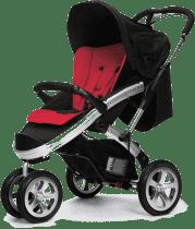 CASUALPLAY Sportowy Wózek S4 2015 - Raspberry