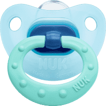 NUK Smoczek Classic FASHION niebieski, wielkość 1, 0-6m
