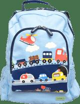 BOBBLE ART Detský batoh veľký Dopravné prostriedky