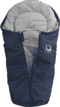 EASYGROW Mini Fusak do autosedačky, Navy Melange 2016