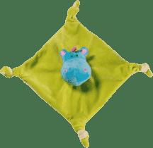 BABY ONO Hračka mazlíček - žluto/zelená 0m+