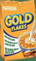 NESTLÉ GOLD FLAKES płatki kukurydziane z miodem i orzeszkami 500g