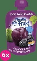 6x NESTLÉ NATURNES slivka a hruška 90g - ovocná kapsička