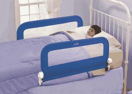 SUMMER INFANT Dwustronna blokada na łóżko niebieska