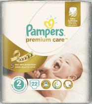 PAMPERS Premium Care 2 MINI 22ks (3-6kg) CARRY pack - jednorazové plienky