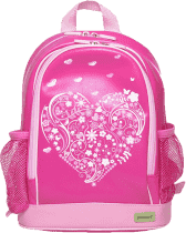 BOBBLE ART Dziecięcy plecak PVC Serce