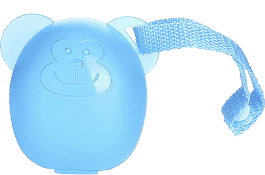 DIAGO Puzdro na cumlík opička modrá