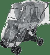 DIAGO Folia przeciwdeszczowa na wózek bliźniaczy – pozycja za sobą