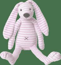 HAPPY HORSE Růžový pruhovaný králíček Reece 1