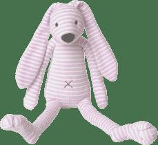 HAPPY HORSE Růžový pruhovaný králíček Reece 2