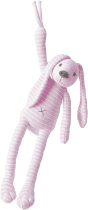 HAPPY HORSE Ružový pruhovaný králiček Reece Hudobné
