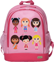 BOBBLE ART Dětský batoh PVC velký Panenky