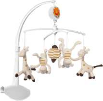 BABY ONO Kolotoč hudobný - žirafa+opica
