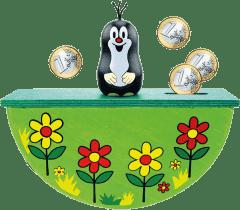 BINO Pokladnička - Krtek