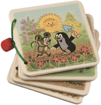DETOA Obrázkové album krtko na záhrade