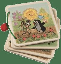 DETOA Obrázkové album krtek na zahradě