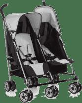 HAUCK Wózek bliźniaczy Turbo Duo H grey 2016