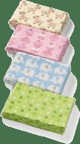 BABY ONO Deka dětská Mikrovlákno, 75x100cm - růžová