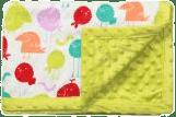 BABY ONO Deka s mikrovláknem-zelená