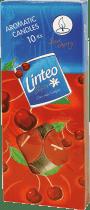 LINTEO SATIN – świeczki zapachowe – podgrzewacze, 10 szt., wiśnia
