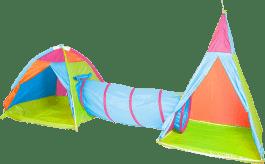 JOHN Zestaw 2 dziecięcych namiotów + tunel