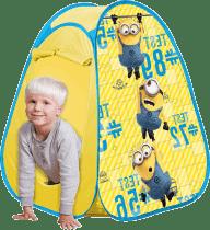 JOHN POP UP dětský stan Mimoňové 75 x 75 x 90cm