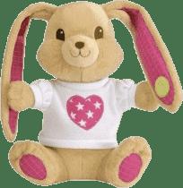 PIOUPIOU MERVEILLES Zajačik Rock 30 cm ružový