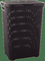 CURVER Kosz na pranie Natural Style 60l, brązowy