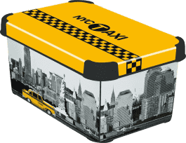 CURVER Pudełko do przechowywania Taxi New York S
