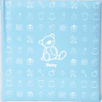 Dziecięcy fotoalbum na 200 fotografii (10 x 15 cm) – niebieski