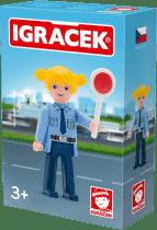 IGRÁČEK Policajtka s doplnkami