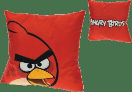 MIKRO TRADING Polštář Angry Birds červený