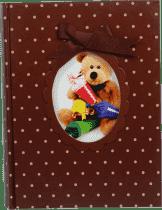 FOTOALBUM dětské 200 fotografií (10x15cm) - hnědé