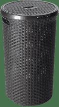 CURVER Kosz na pranie okrągły Natural Style 48l, brązowy