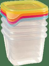 CURVER Pojemniki na żywność Fresh&Go 4 x 0.45l