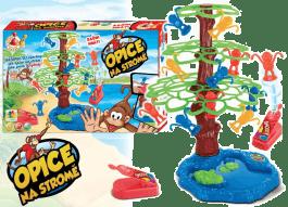 HM STUDIO Gra - Małpki na drzewo