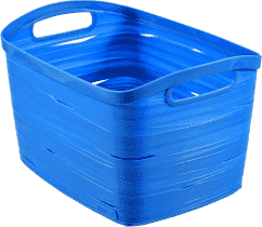 CURVER Košík Ribbon L, modrý