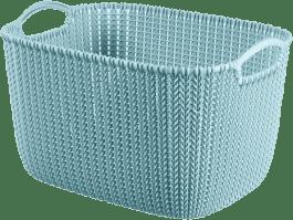 CURVER Košík obdélníkový Knit 8l, modrý