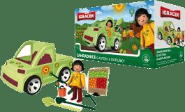 IGRÁČEK Záhradníčka s autom a doplnky