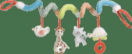VULLI Spirala żyrafa Sophie z elementami pobudzającymi aktywność