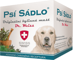 SWISS PSÍ SÁDLO Dr.Weiss Originální bylinná mast 75ml