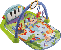 FISHER-PRICE Hracia dečka s pianom
